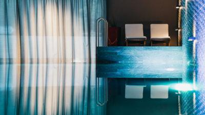 swimming pool at la senda wellness and spa peaks place laax
