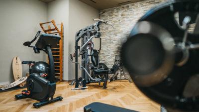 Fitness und Kraftraum Peaks Place Flims Laax Falera