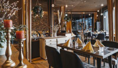 Restaurant s'nani Innenraum Flims Laax Falera