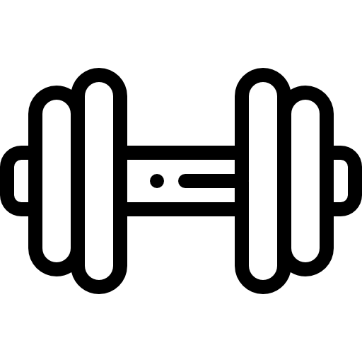 Free weights icon