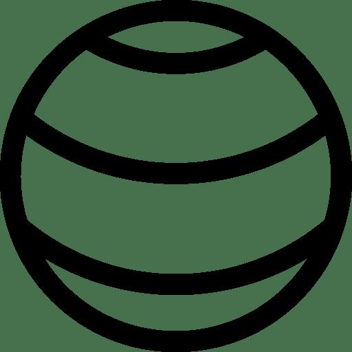 Gymnastic balls icon