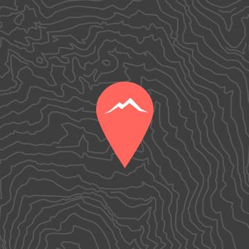 maps icon standort markierung berge alpen peaks place